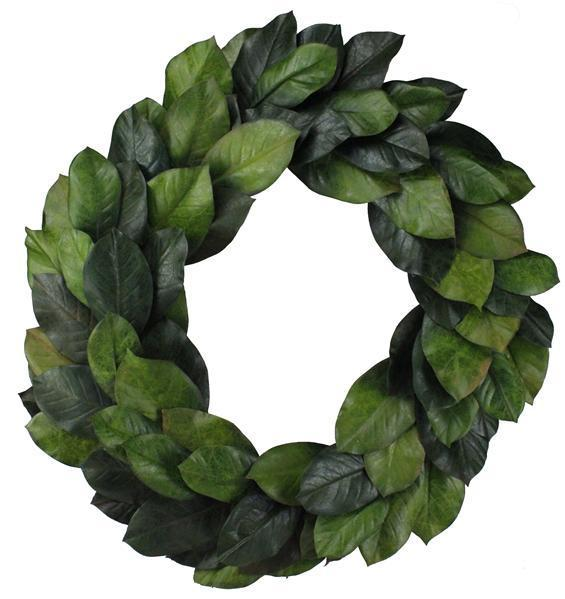 Green Magnolia Wreath