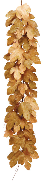 Golden Fig Leaf Garland