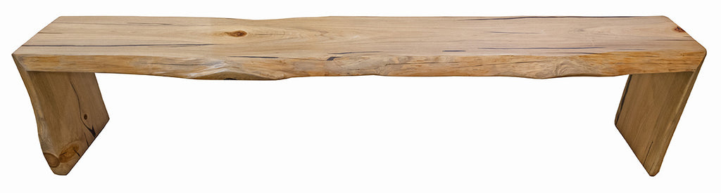 Live Edge Cypress Bench 7ft - Paul Michael Company
