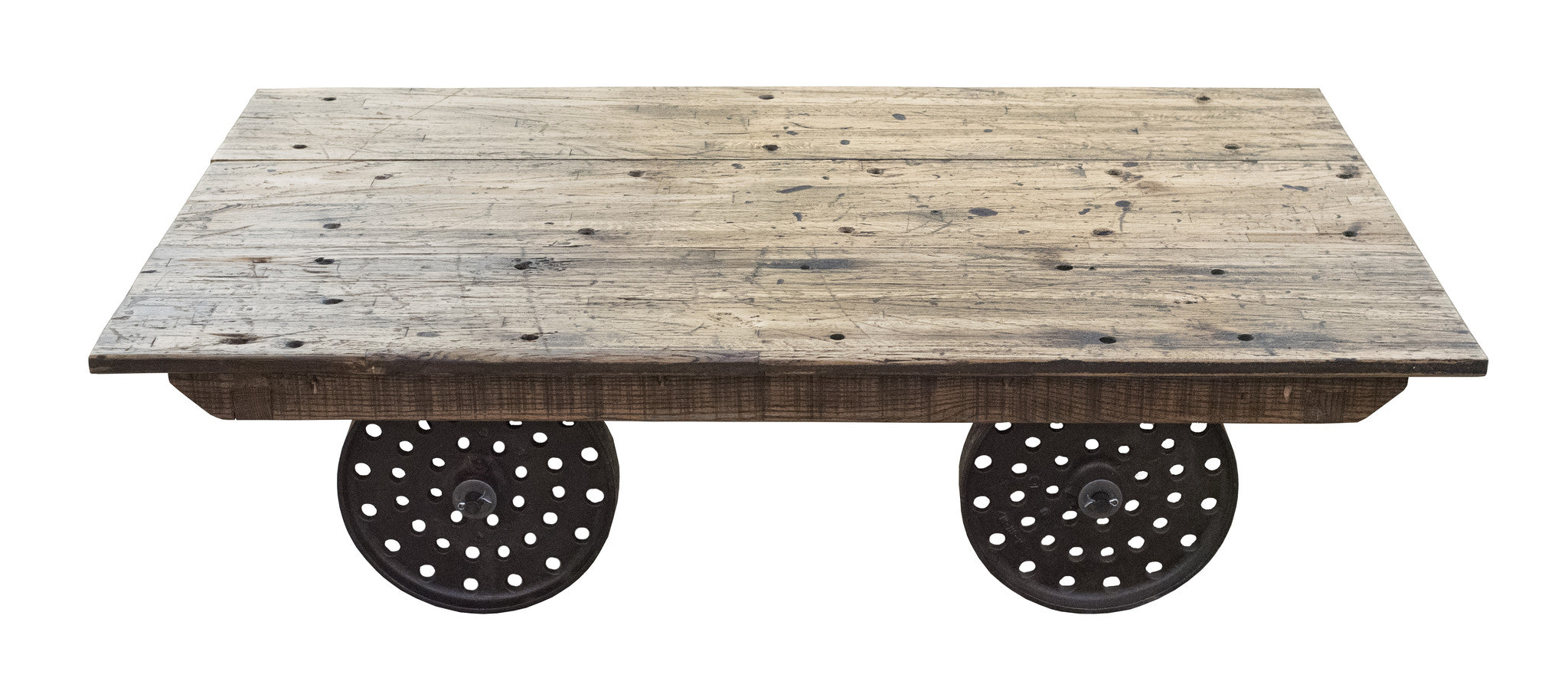Trolley Cart Coffee Table   Paul Michael Company   1