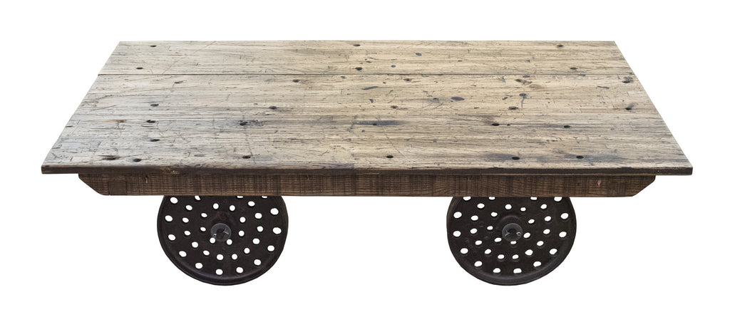 Trolley Cart Coffee Table - Paul Michael Company - 1
