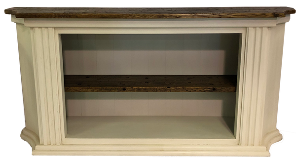 Reclaimed Oak Cypress Bookshelf