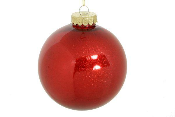 Set of 3 Red Ornaments