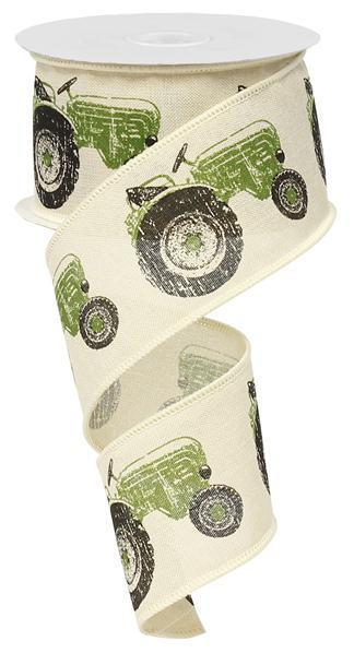 Green Tractor Ribbon