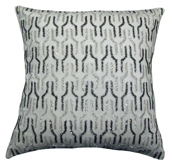 Link Striped Ivory Pillow