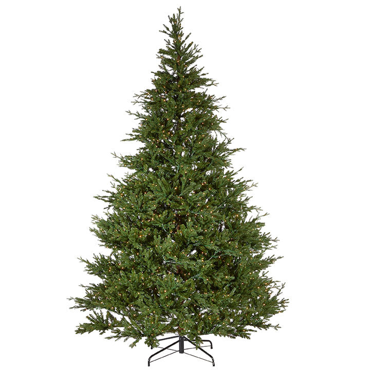 9ft. Artificial Lighted Mountain Spruce Tree