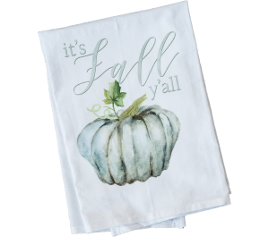 It's Fall Y'all Dish Towel
