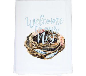 Welcome to our Nest Dish Towel