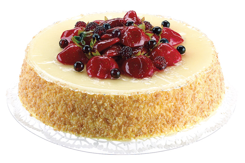 Cheese Cake Topped with Fruit