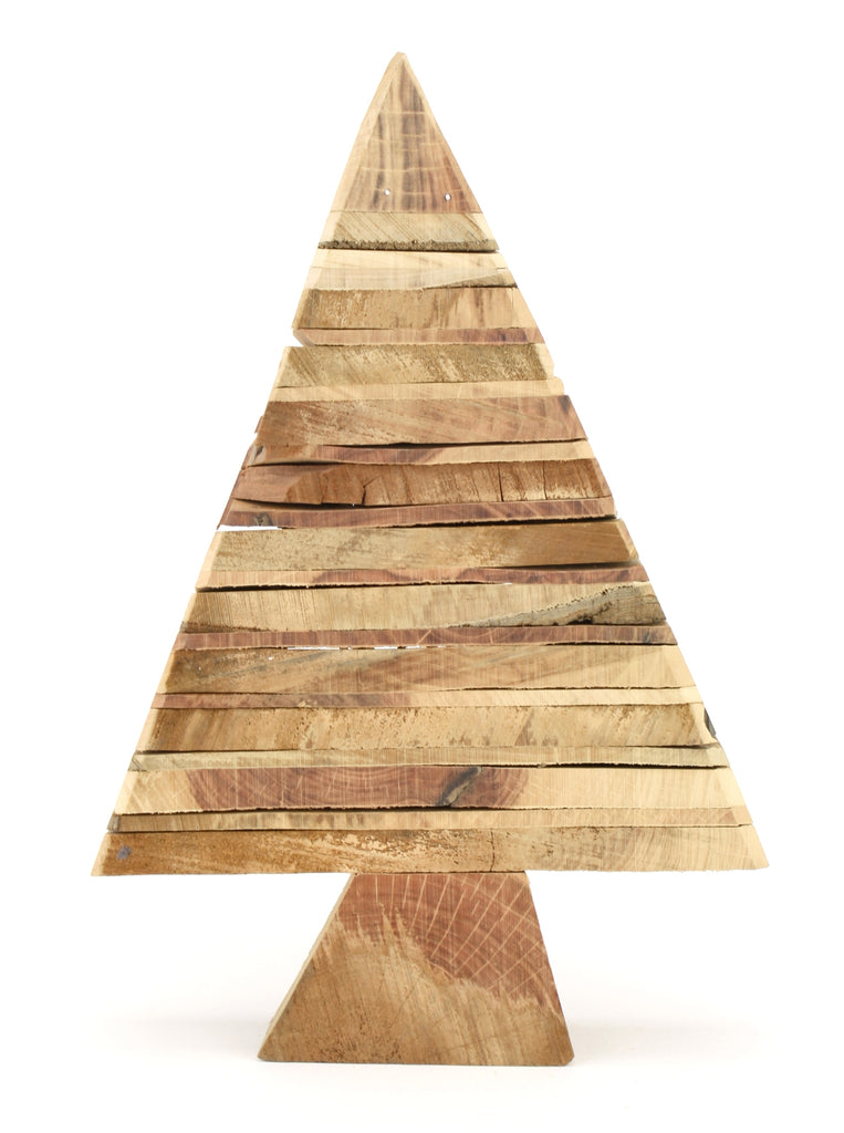 Lg Wood Christmas Tree