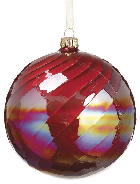Multi-Colored Glass Ornament