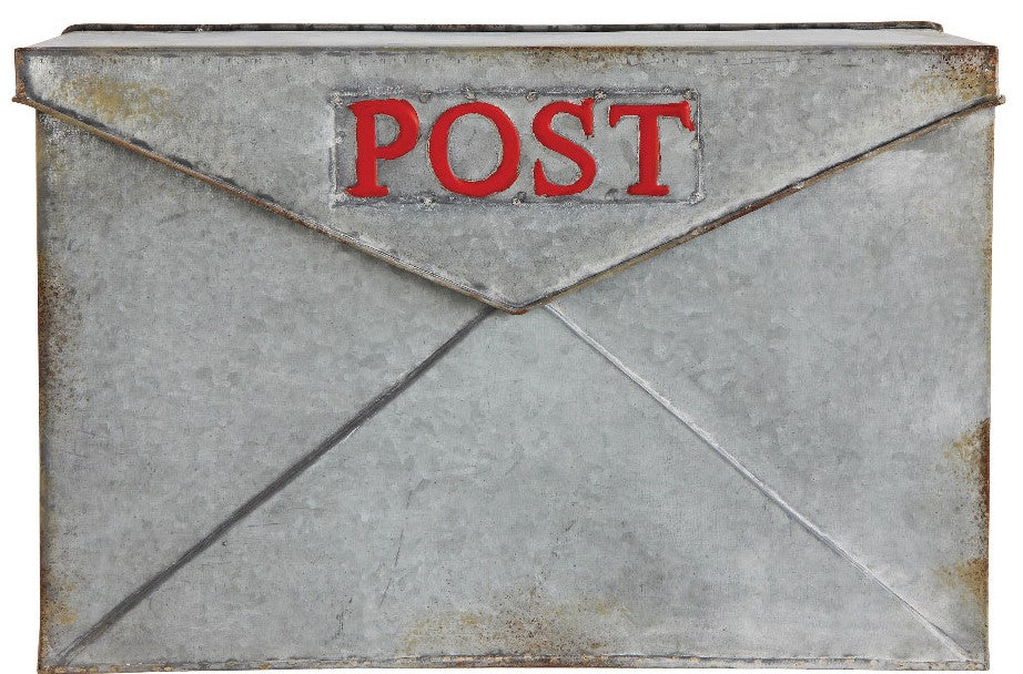 Tin Mail Box Wall Decor