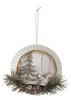 Metal Ornaments With Pine