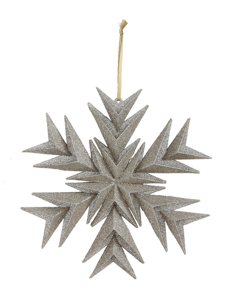 Paper Snowflake Christmas Ornament