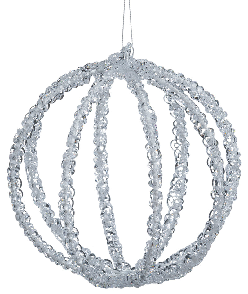 Iced Ball Ornament