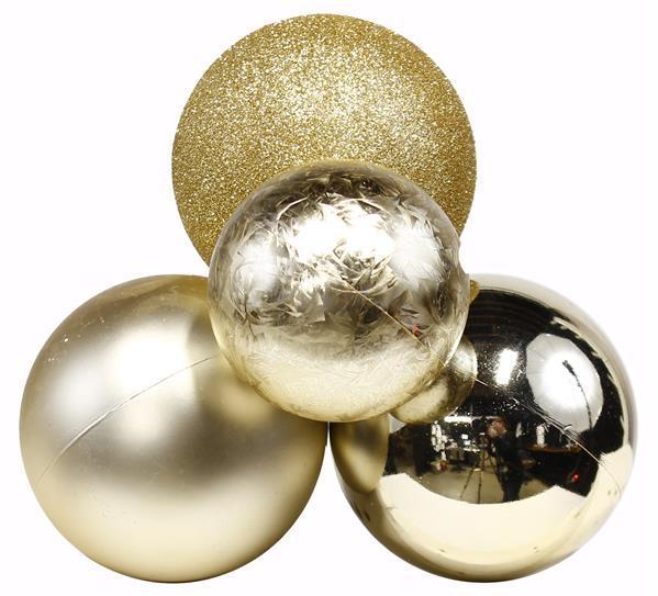 Champagne Ball Cluster Ornament