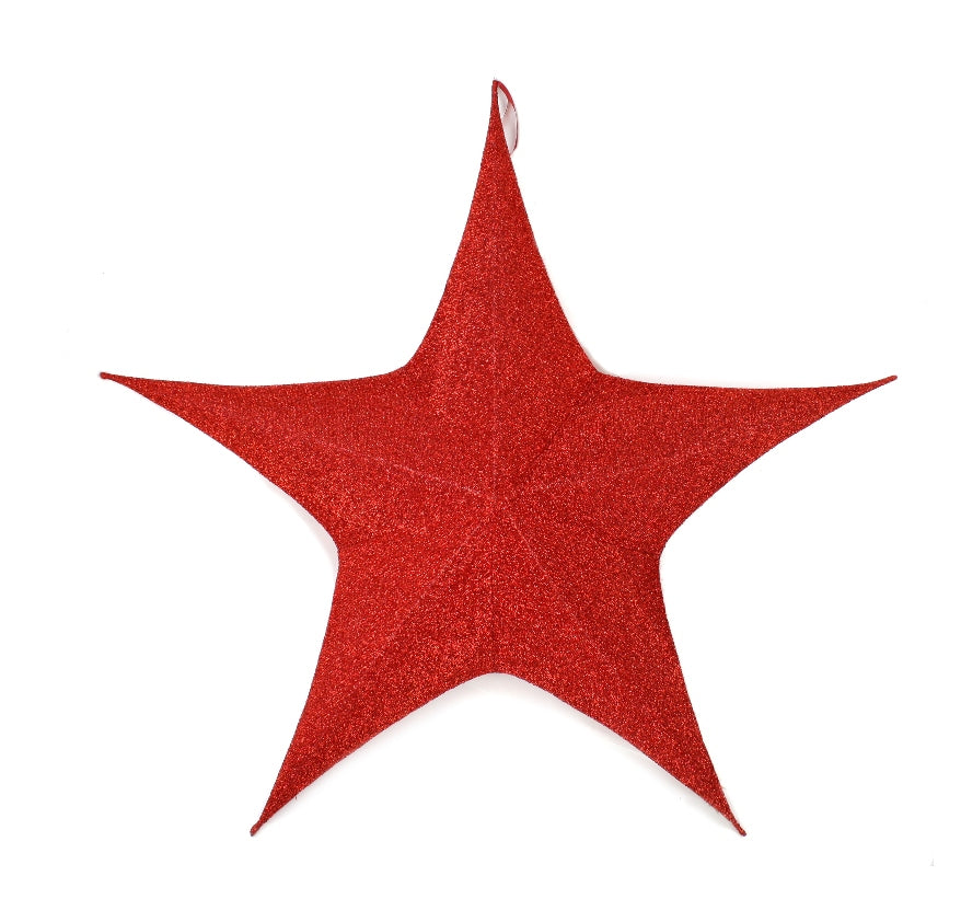 Red Foldable Star Large