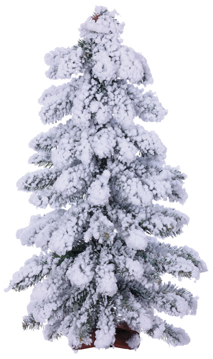 Flocked Alpine Tree
