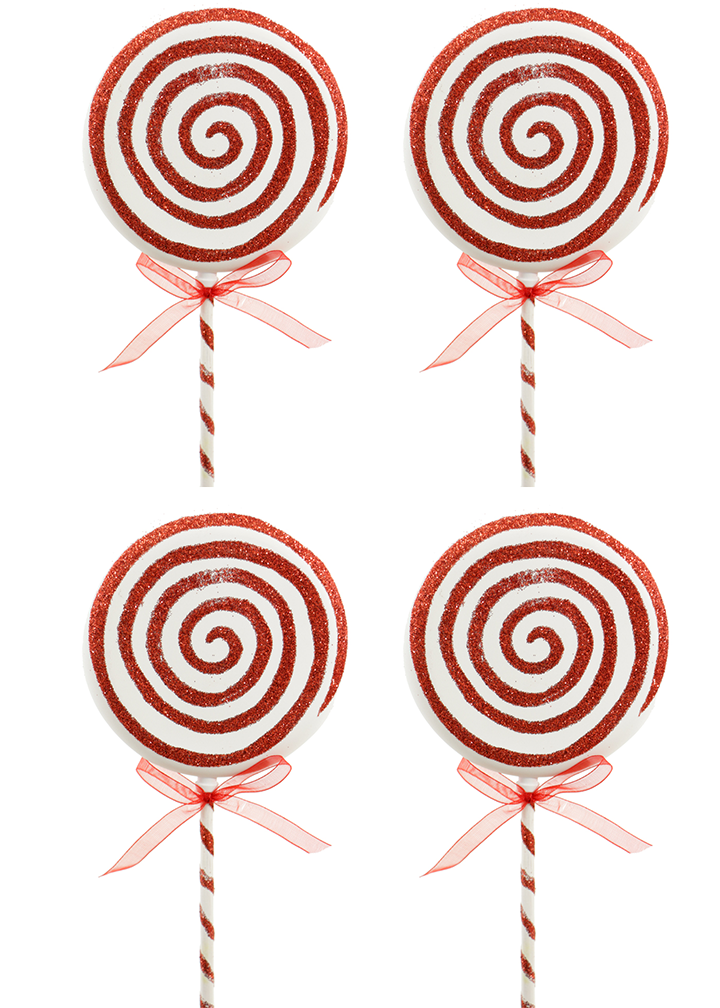 Lollipop Ornaments Set of 4