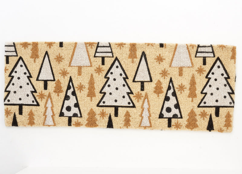 Natural Christmas Tree Doormat