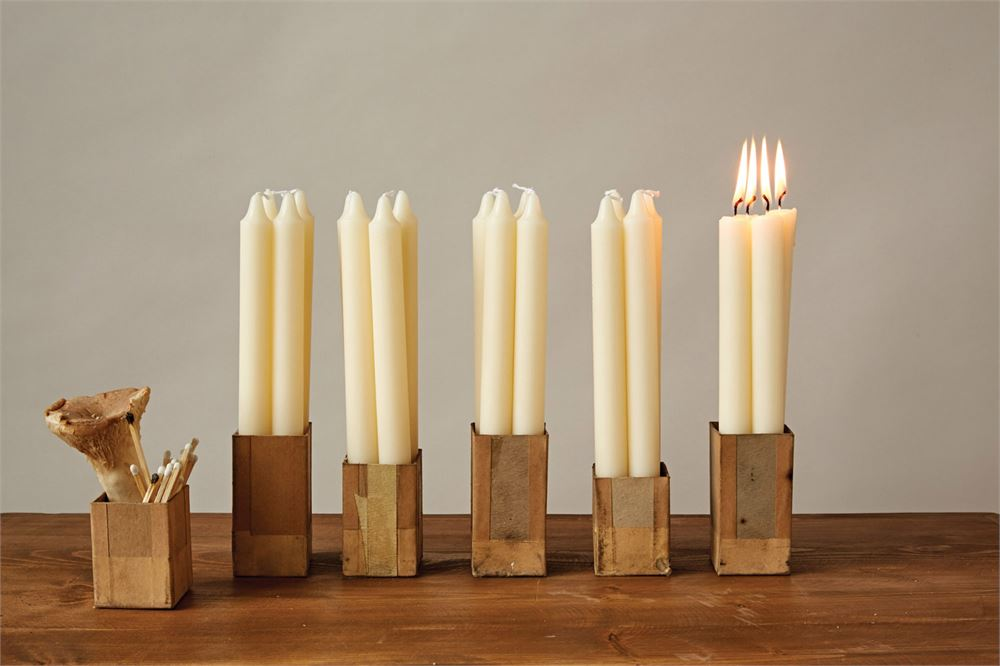 Set of 12 Tapered Candles