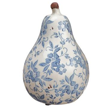 Terracotta Pear White Blue