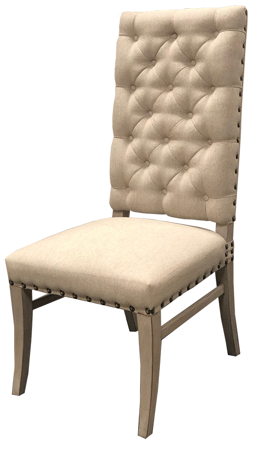 Excellent Aliana Tufted Nailhead Dining Chair Gmtry Best Dining Table And Chair Ideas Images Gmtryco