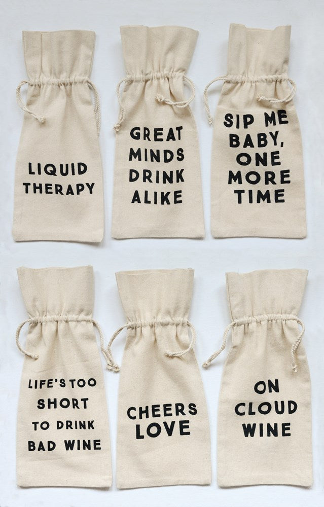 Whitty Wine Bags