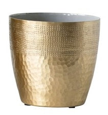 Brass Textured Planters