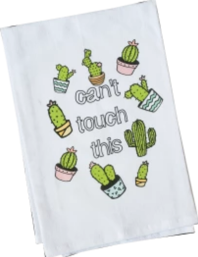 Can't Touch This Tea Towel