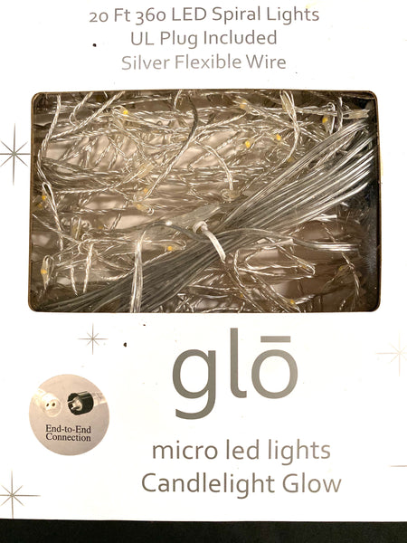 Glo Micro Led Lights Silver Strand Paul Michael Company