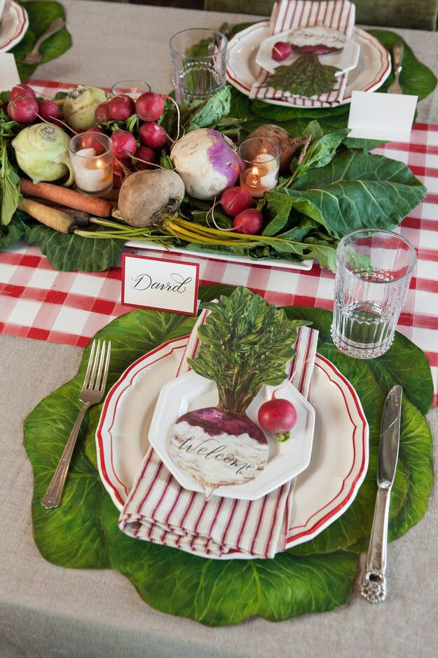 Cabbage Paper Placemat