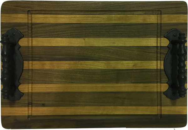 Native Cherry and Walnut Cutting Board - Paul Michael Company