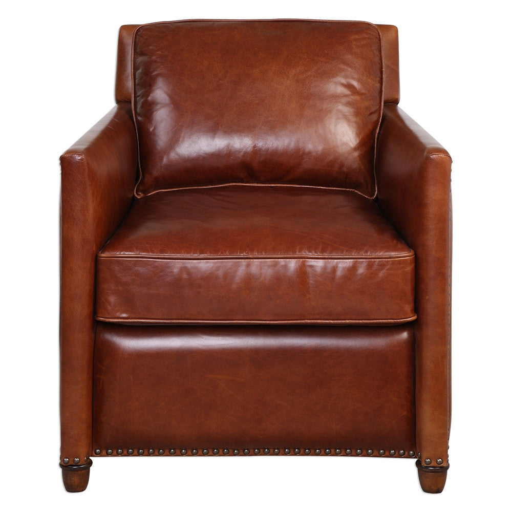 Roosevelt Club Chair - Paul Michael Company
