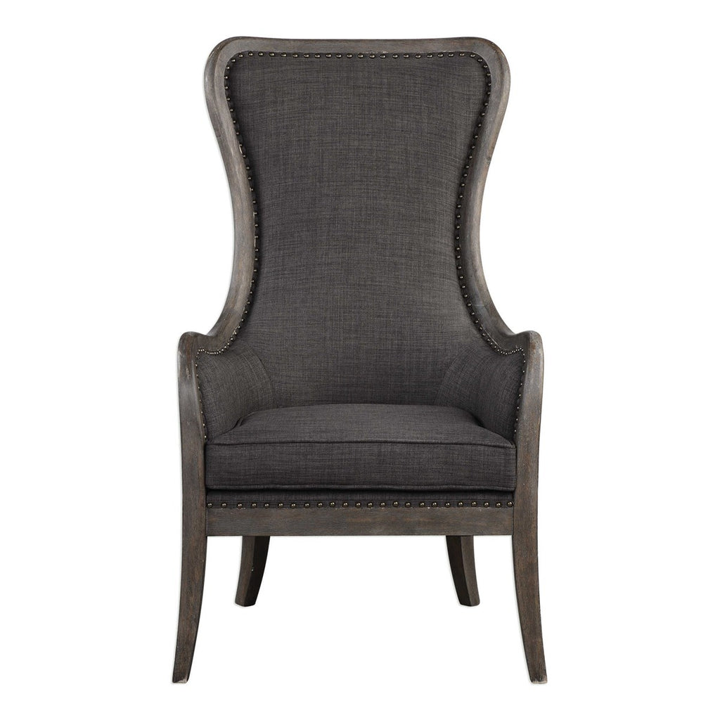 Channing Accent Chair- Grey