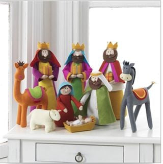 Felt Nativity Set - Paul Michael Company - 1