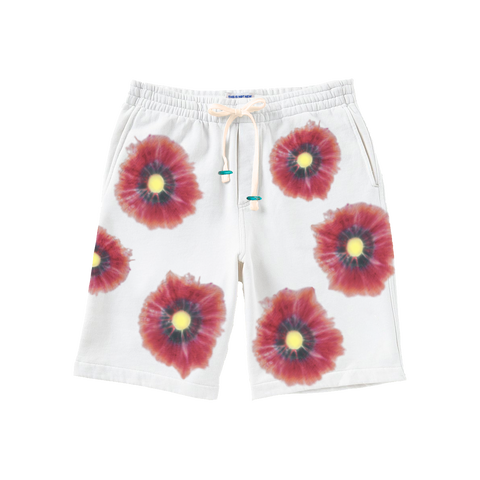 Althea Poppy Hand Dyed Lounge Shorts