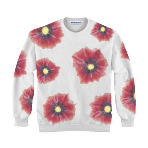 Althea Poppy Hand Dyed Crewneck Sweater