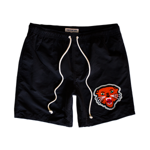 Fight Your Demons Applique Gym/Pool Lounge Shorts