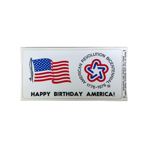 "Bicentennial ""Happy Birthday America!"" Postcard"