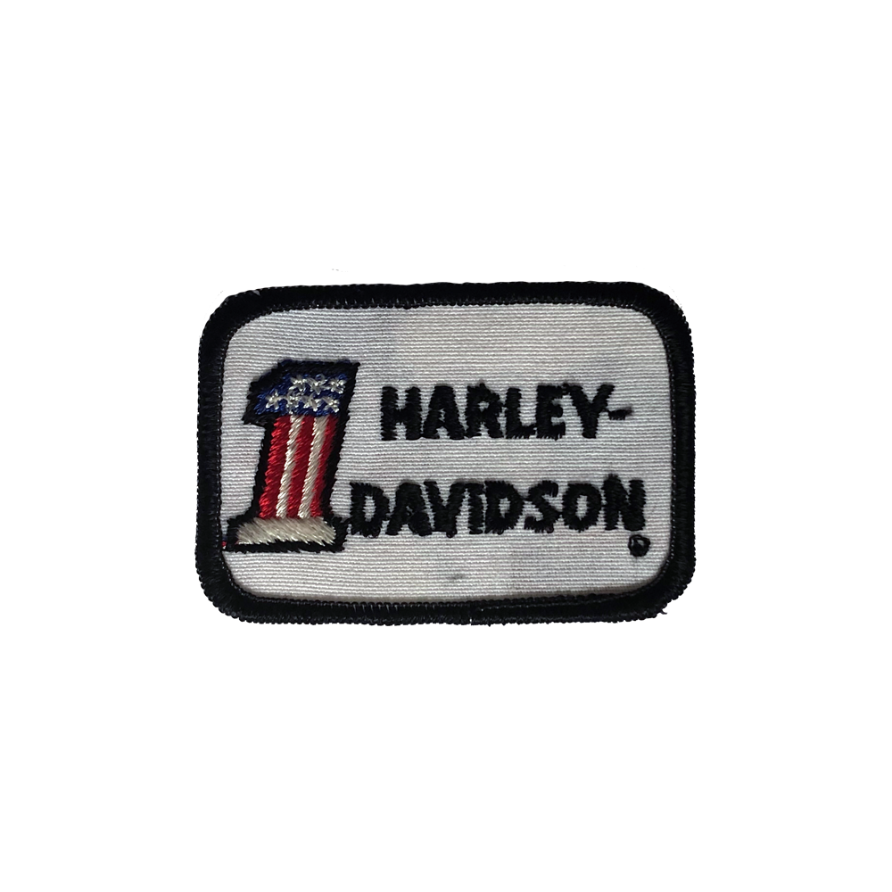 70's Official Harley Davidson Logo Patch