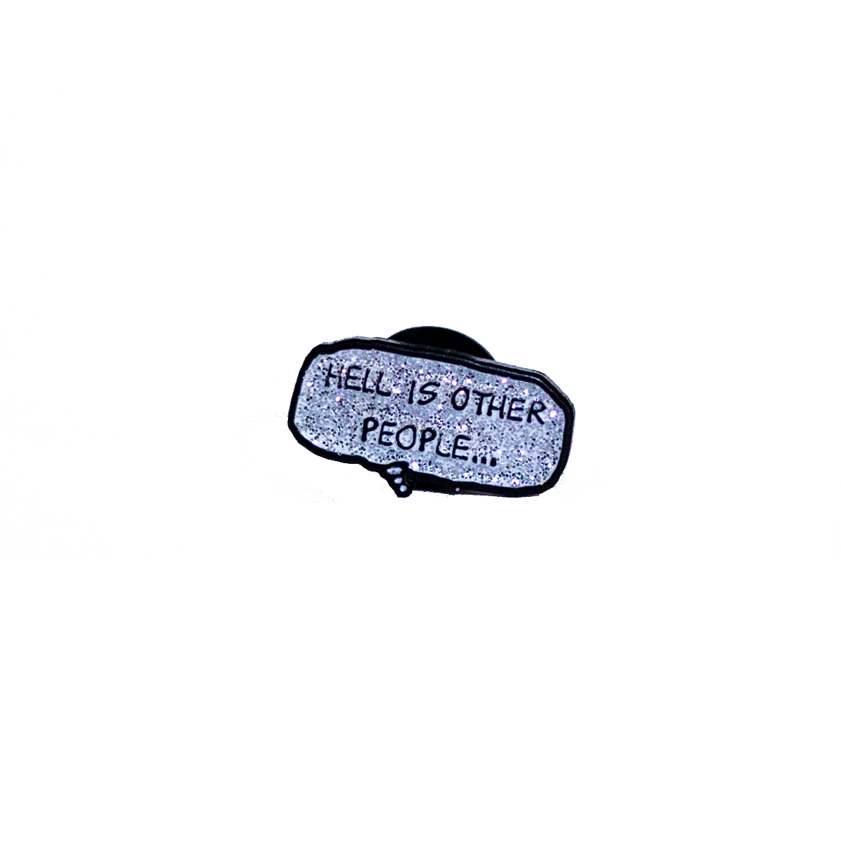Hell Is Other People Enamel Pin