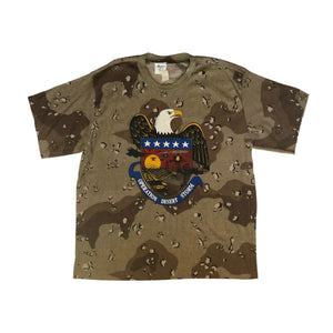90's Gulf War Operation Desert Storm Camo T-Shirt