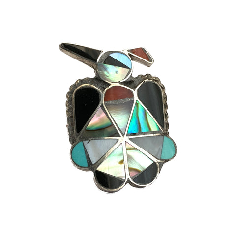 Zuni Peyote Bird Ring