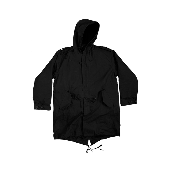 No More Secrets Fishtail Parka