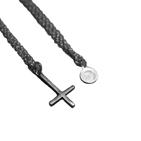 The Cross of Saint Peter Sterling Silver .925 Necklace