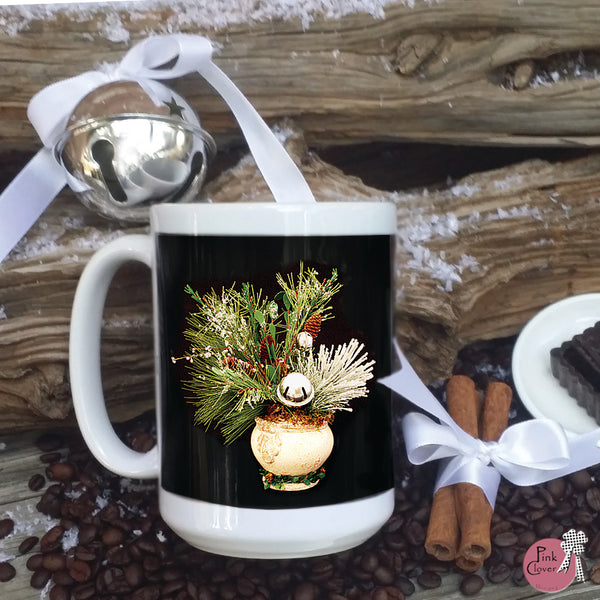 Silver Bells Christmas Mug (Set of 2)