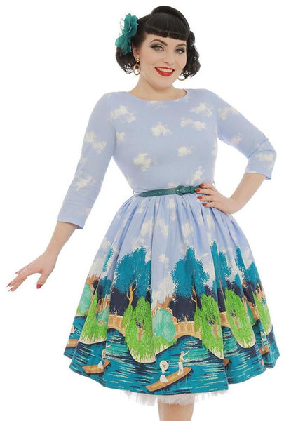 Robe Holly blue Oxbridge