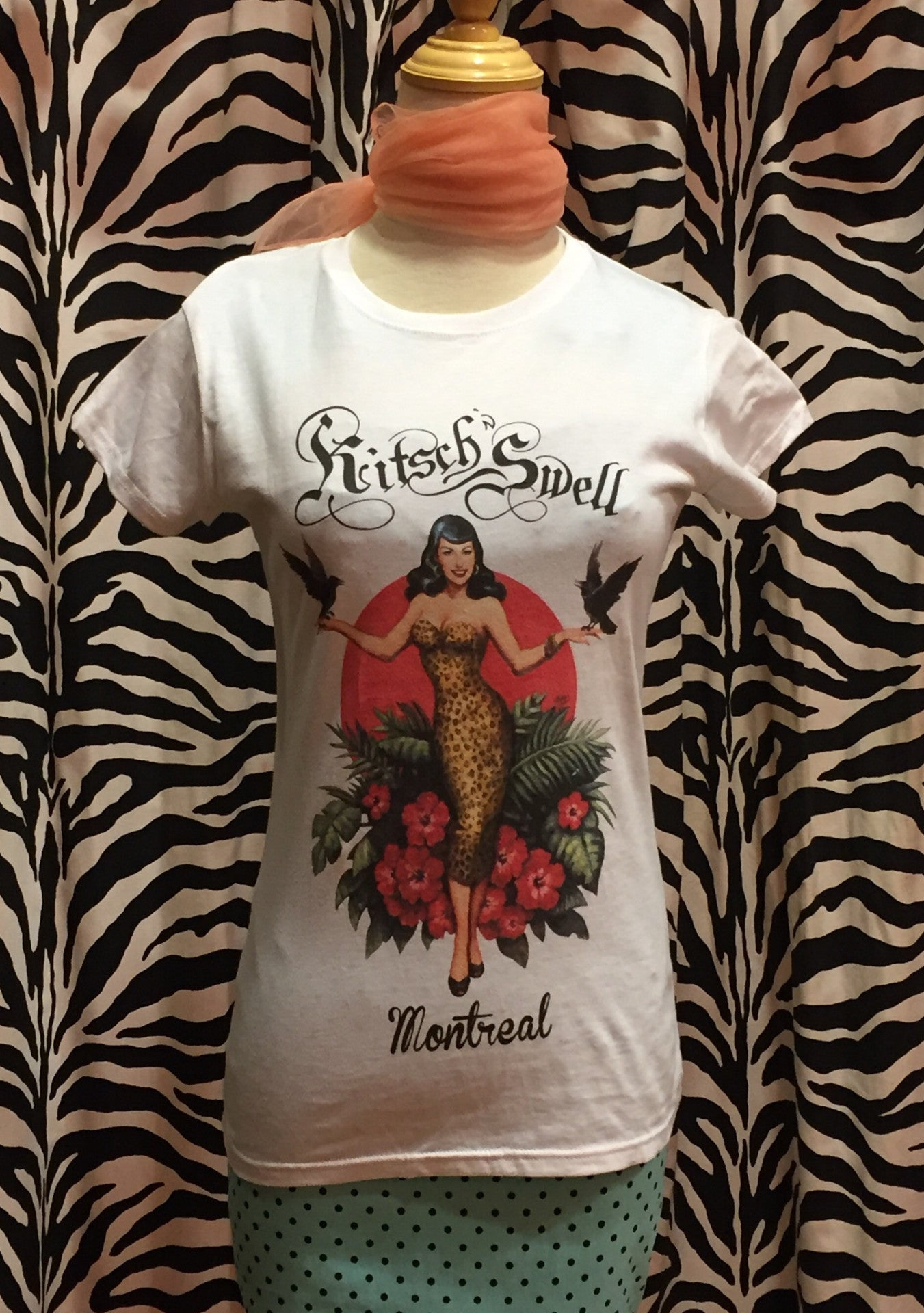 T-shirt Kitsch'n Swell