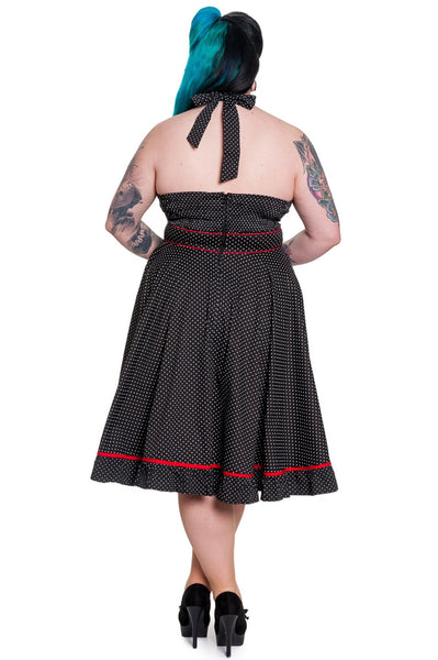 Robe Vanity - Taille Plus - Dos